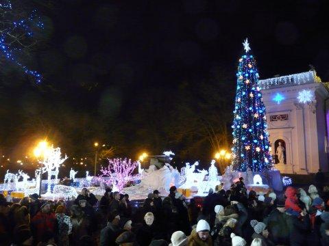 Die Jolka, Odessas Weihnachtsbaum