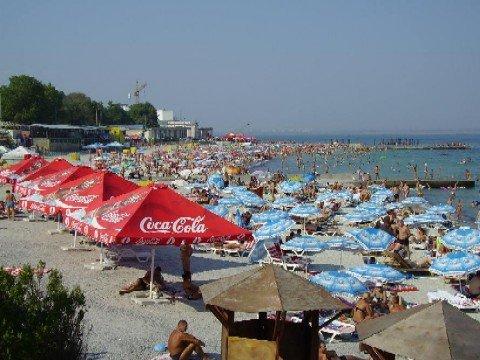 Odessas Strand, Mitte August 2008