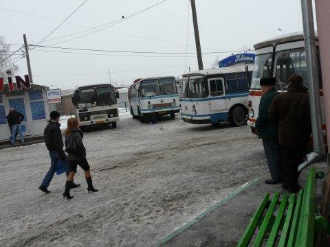 Uman, Busbahnhof